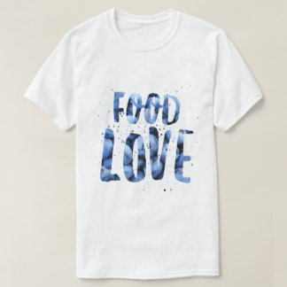 Camiseta O t-shirt dos homens do mirtilo de FoodLove