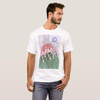 Camiseta O t-shirt dos homens do pente das medusa