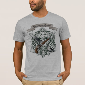 Camiseta O t-shirt dos homens do pirata do vintage do