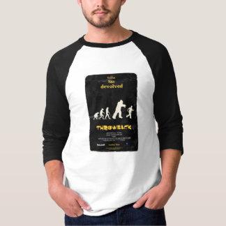 Camiseta O t-shirt dos homens do Raglan do poster da