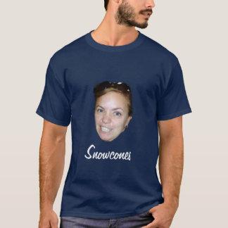 Camiseta O t-shirt dos homens do rosnado de Snowcones