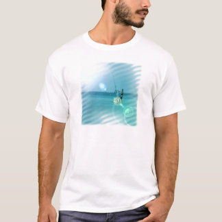Camiseta O t-shirt dos homens do Windsurfer