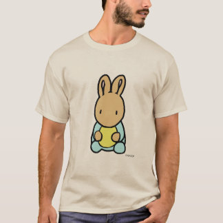 Camiseta O t-shirt dos homens doces do coelho