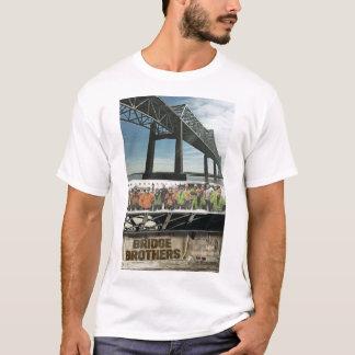 Camiseta O t-shirt dos homens dos irmãos da ponte com