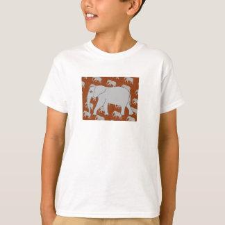 Camiseta O t-shirt dos homens elegantes do elefante