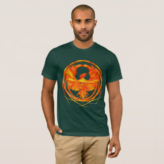 Camiseta O t-shirt dos homens impetuosos de Phoenix