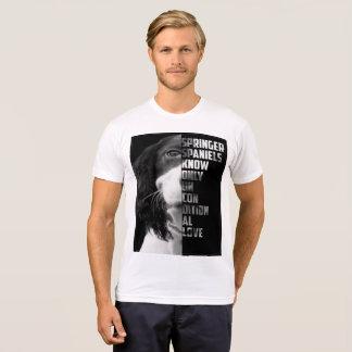 Camiseta O t-shirt dos homens incondicionais do amor