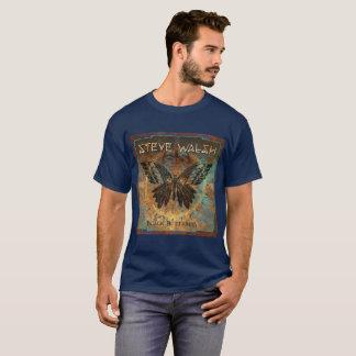 Camiseta O t-shirt dos homens mais pretos da arte da