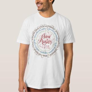 Camiseta O t-shirt dos homens orgânicos do drama de período