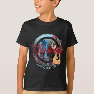 Camiseta O t-shirt dos miúdos da cidade da música de