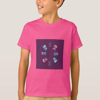 Camiseta O t-shirt dos miúdos das medusa