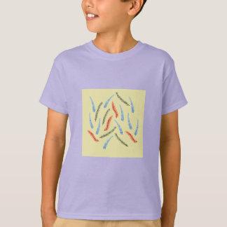 Camiseta O t-shirt dos miúdos dos ramos