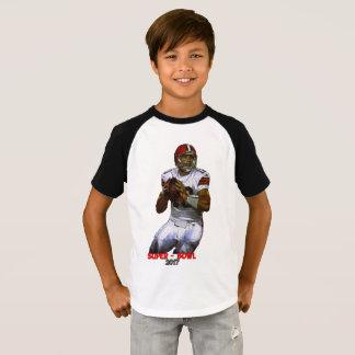 Camiseta O t-shirt dos miúdos impressionantes no design do