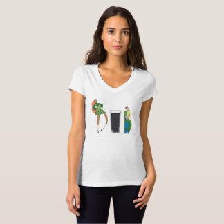 Camiseta O t-shirt   DUBLIN das mulheres, IE (DUB)