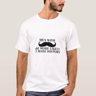 Camiseta O t-shirt engraçado das citações do bigode faz a
