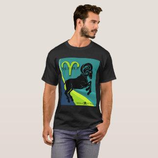 Camiseta O t-shirt escuro básico dos DeVinci-Homens de