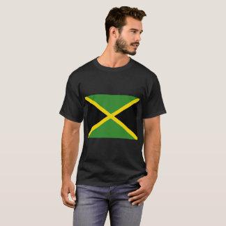 Camiseta O t-shirt escuro básico dos homens jamaicanos da