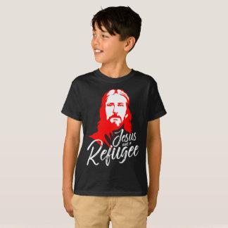 Camiseta O t-shirt escuro do menino de Jesus