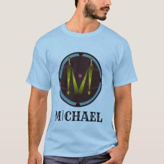Camiseta O t-shirt exclusivo com seu escreve Michael