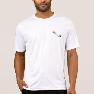 Camiseta O t-shirt faz homens do dos do Esporte-Tek do