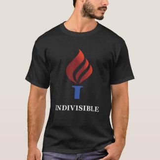 Camiseta O t-shirt indivisível dos homens