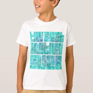 Camiseta O t-shirt lindo do MELHOR divertimento do IRMÃO
