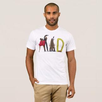 Camiseta O t-shirt | MADRID dos homens, ES (LOUCO)