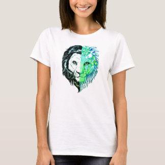Camiseta O t-shirt místico mão original das mulheres