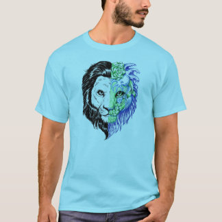 Camiseta O t-shirt místico mão original dos homens tirados