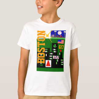 Camiseta O t-shirt novo de Boston caçoa o presente dos