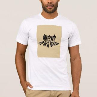 Camiseta O t-shirt novo de morte do logotipo da raça