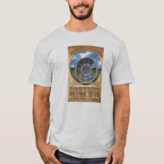 Camiseta O t-shirt o maior da placa do viagem da lembrança