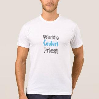 Camiseta O t-shirt o mais fresco do padre dos mundos