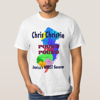 Camiseta O t-shirt O MAIS MAU do governador de Chris