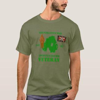 Camiseta O t-shirt Op esquecido do veterano da bandeira da