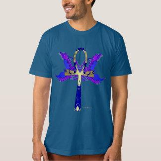 Camiseta O t-shirt orgânico dos homens de Ankh Phoenix
