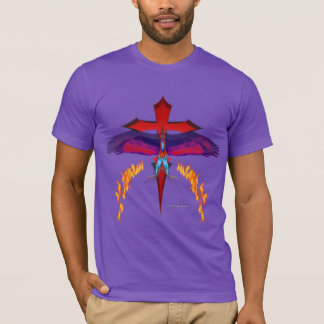 Camiseta O t-shirt orgânico dos homens de desaparecimento