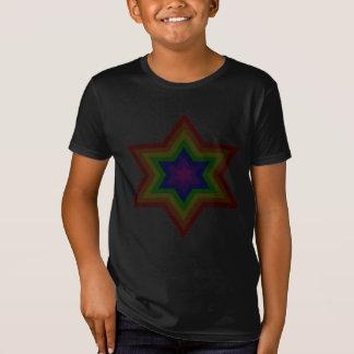 Camiseta O t-shirt orgânico dos meninos escuros de Burst™