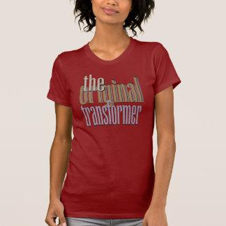 Camiseta O t-shirt original do transformador