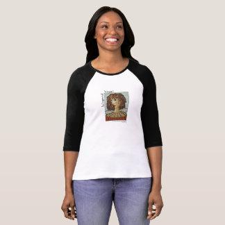 Camiseta O t-shirt para a Mulher-Um autorizou a mulher