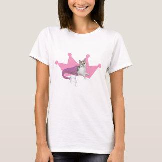 Camiseta O t-shirt pequeno da arinca da rainha