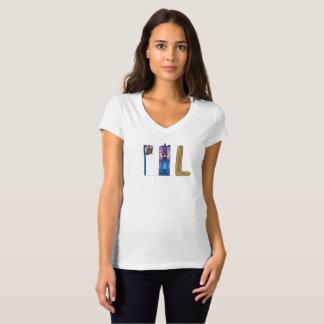 Camiseta O t-shirt | PHILADELPHFIA das mulheres, PA (PHL)