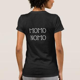 Camiseta O t-shirt preto das mulheres de MOMO NOMO