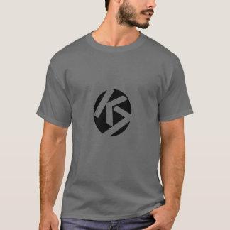 Camiseta O t-shirt preto original F&B do logotipo do jogo