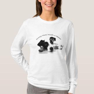 Camiseta O t-shirt/salvamento animal da mulher