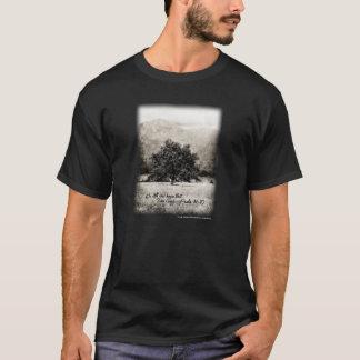 Camiseta O t-shirt seja ainda & saiba