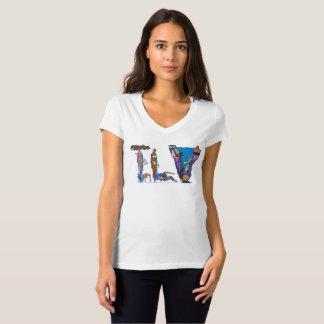 Camiseta O t-shirt | TEL AVIV das mulheres, IL (TLV)