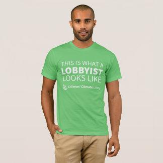 Camiseta O t-shirt verde dos homens do intrigante de CCL