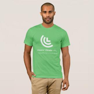 Camiseta O t-shirt verde dos homens políticos da vontade