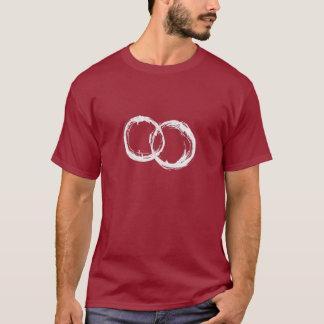 Camiseta O T-Shrit dos homens das miudezas
